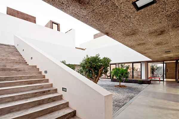 Villa extremaduras - Pannello Corkpan Md Facciata