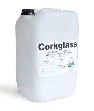 Corkglass legante per sughero in granuli