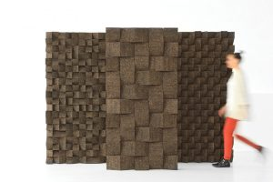 Braque parete fonoassorbente in sughero Tania da Cruz 1
