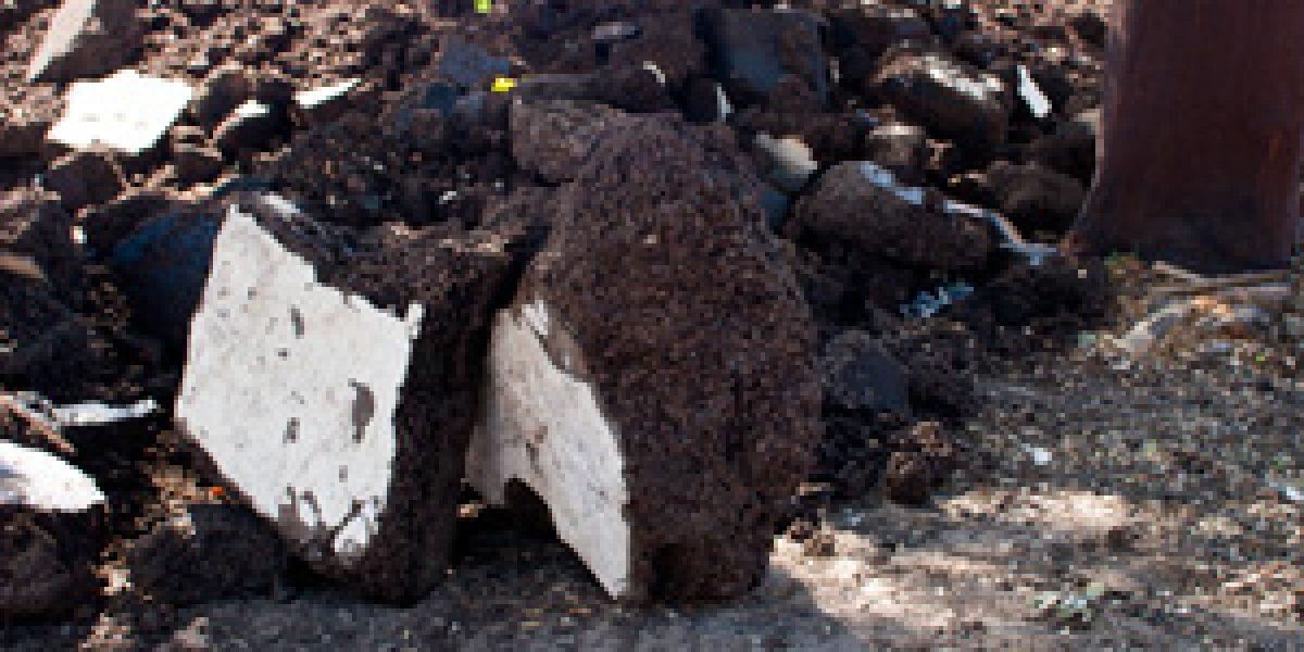 Riutilizzo del sughero tostato