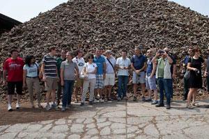 Tecnici Casaclima Portogallo 2013 visita stabilimento Amorim