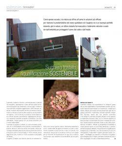 Gli impieghi del sughero in interventi idi riqualificazione edilizia