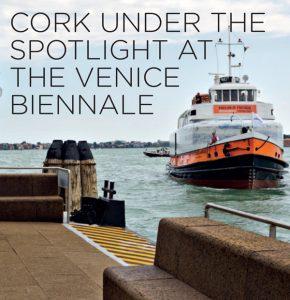 Il sughero Corkpan è protagonista alla biennale di Venezia.