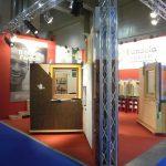 Lo stand Fanzola-CasaNatura a Klimahaus 2014