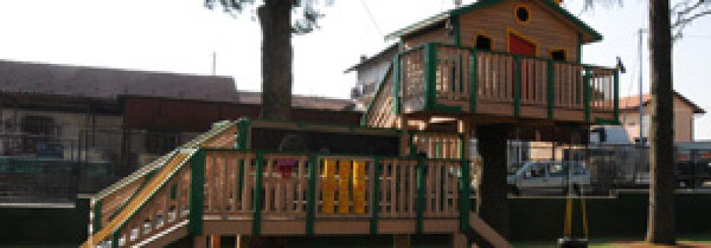 casa sull'albero british college Gallarate