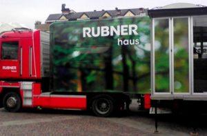 Interno del Truck Rubner del Tour 2014