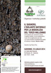 CasaClima NetworK Lombardia colalbora con Tecnosugheri per la realizzazione del workshop d Saronno