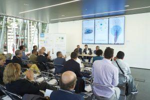 conferenza stampa cubo di ghiaccio Milano