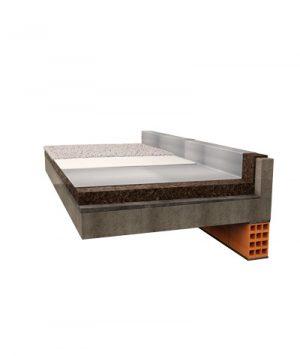 Il pannello Corkpan è ideale per isoalre terrazzi e tetti piani dal caldo e dal freddo