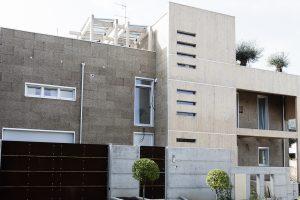 La facciata della Villa progettata dall?Arch. Natalucci
