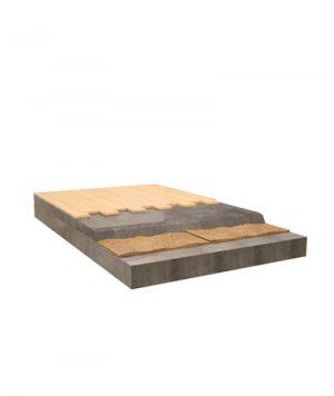 isolamento pavimenti flottanti con fibra di cocco