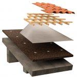 tetto con membrana dettaglio