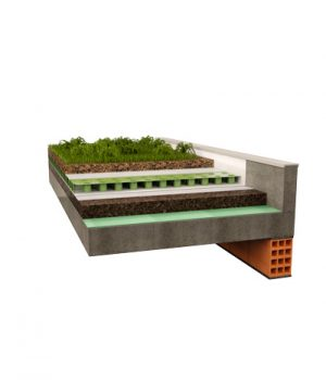 E' possibile realizzate tetti verdi utilizzando i panelli corkpan come isolante