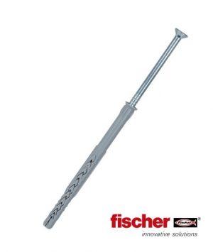 Il tassello prolungato Fischer SXRL è utilizzato per il fissaggio dei pannelli CORK-SELF in sughero espanso per cappotti interni a secco.