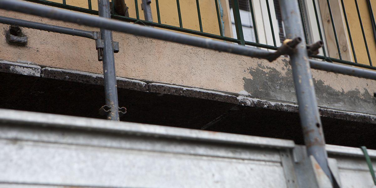 Correzione del ponte termico del balcone con cappotto in sughero SecilVit Cork