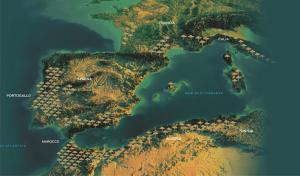 Diffusione della quercia da sughero nel Mediterraneo