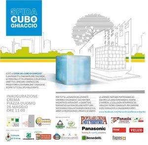 Tecnosugheri è partner della Sfida del Cubo di Ghiaccio di Crema