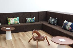 divano modulare in sughero a EXPo
