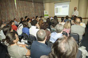 Un momento del meeting tecnico tenutoda Amorim e Secil Argamassas