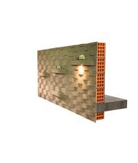 il sughero corkwave riveste le pareti interne di casa, isolando e migliorando l'acustica.