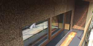 Il gruppo Bevilacqua BLM Domus ha realizzato un sopralzo in legno, con cappotto MD Facciata a vista in sughero