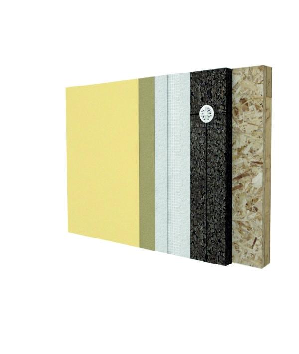 SecilVit Cork Wook è il sistema cappotto per isolamenti in sughero su strutture in legno