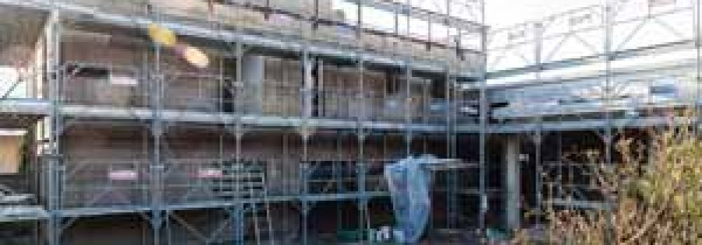 Edificio il latero-cemento riqualificato con cappotto in sughero faccia a vista mD Facciata