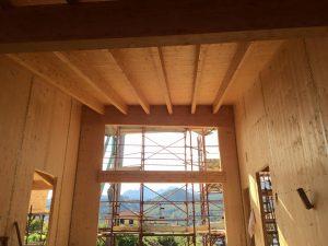 La struttura in legno progettata dall?Arch- Garufi sarà isolata con un cappotto in sughero CORKPAN