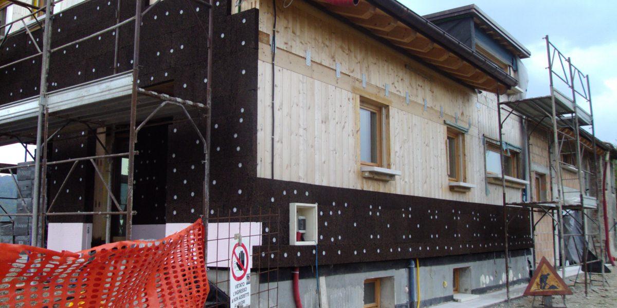 Il cappotto in sughero CORKPAN è ideale per proteggere qualsiasi struttura in legno sottostante