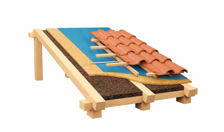 isolamento copertura ventilata in legno