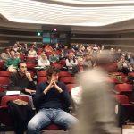 Una immagine della platea durante il workshop di Lecco con INBAR