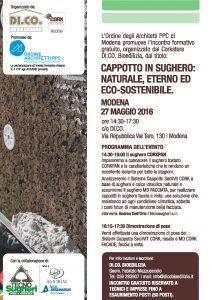 Tecnosugheri e Di.Co. organizzano un workshop a tema sughero a Modena