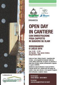 Tecnosugheri e Artuso organizzano un open day sul cantiere del Geom Casulini a Borgomanero (NO)