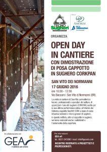 Tecnosugheri e Gea organizzano un open day in cantiere san Vito dei nomranni