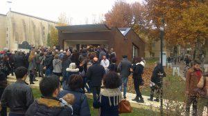 Moltissimi cittadini hanno partecipato all'inaugurazioen del Modulo Eco di Parma