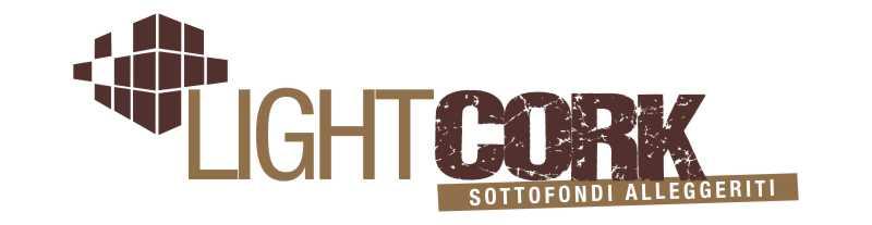 LightCork è il sistema che utilizza granulo di sughero biondo o tostato unito a vetrificante