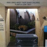 La foto del Cenro diurno per disabili di San Felice Panaro esposta nello stand Tecnosugheri a BZ