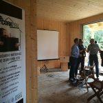 Tecnosugheri partner di holzius sul cantiere di Caino (BS)