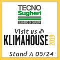 Tecnosugehri sarà presente a Klimahouse 2019 allo stand A 05/24