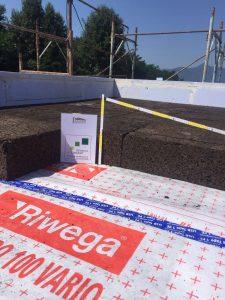 Isolamento copertura cemento con sughero CORKPAN