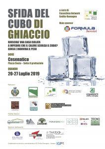 Locandina Cubo si ghiaccio Cesenatico - Tecnosugheri Partner