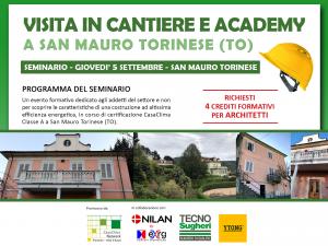 Visita in cantiere San Mauro Torinese