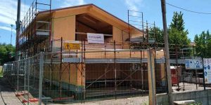 villa in legno a Lazzate su progetto EnergySave