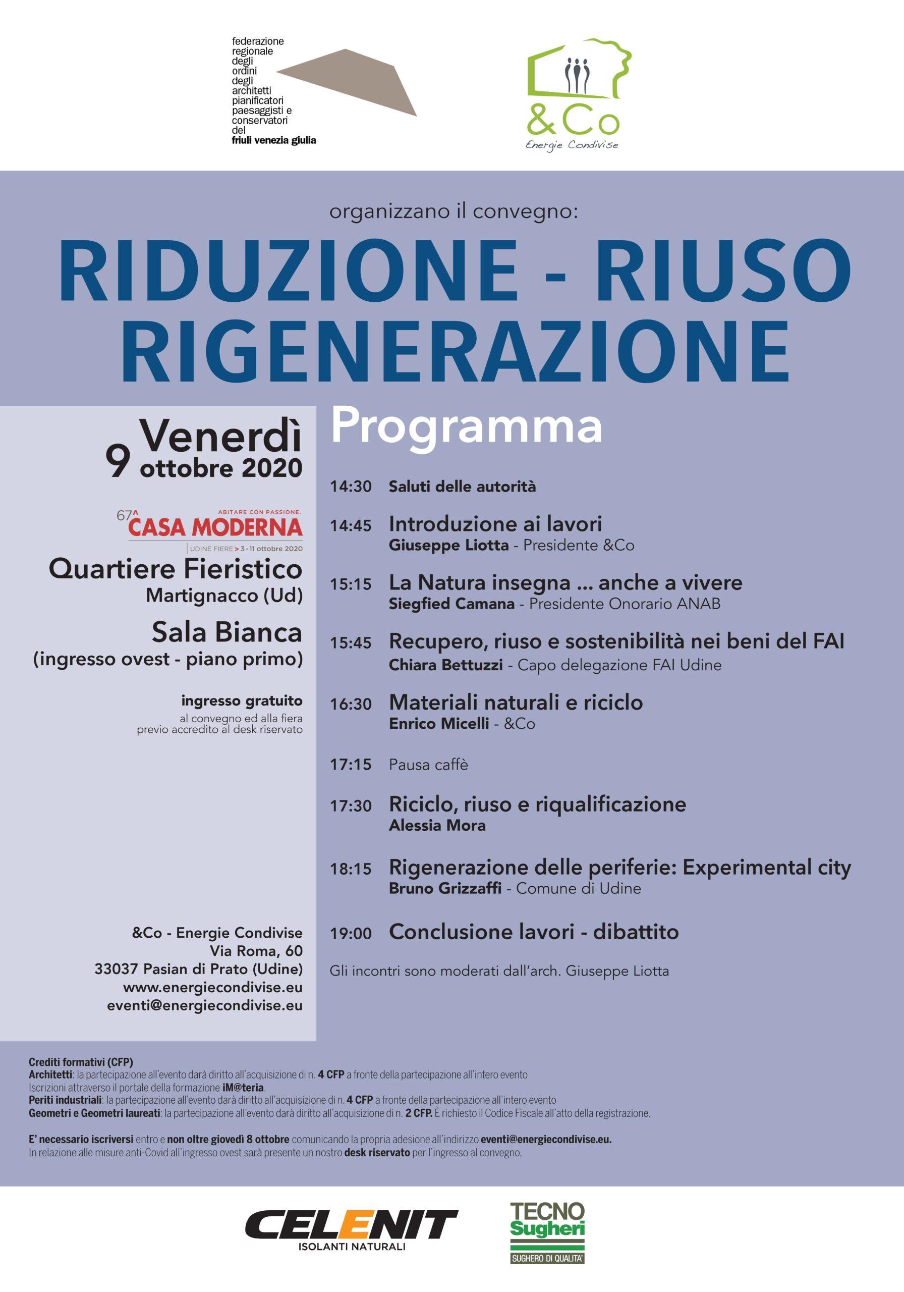 Tecnosugheri sponsor del convegno &co presso CasaModerna Udine