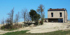 Cantiere di Felino con sughero CORKPAN a vista - Progetto Arch. Mauro Frate