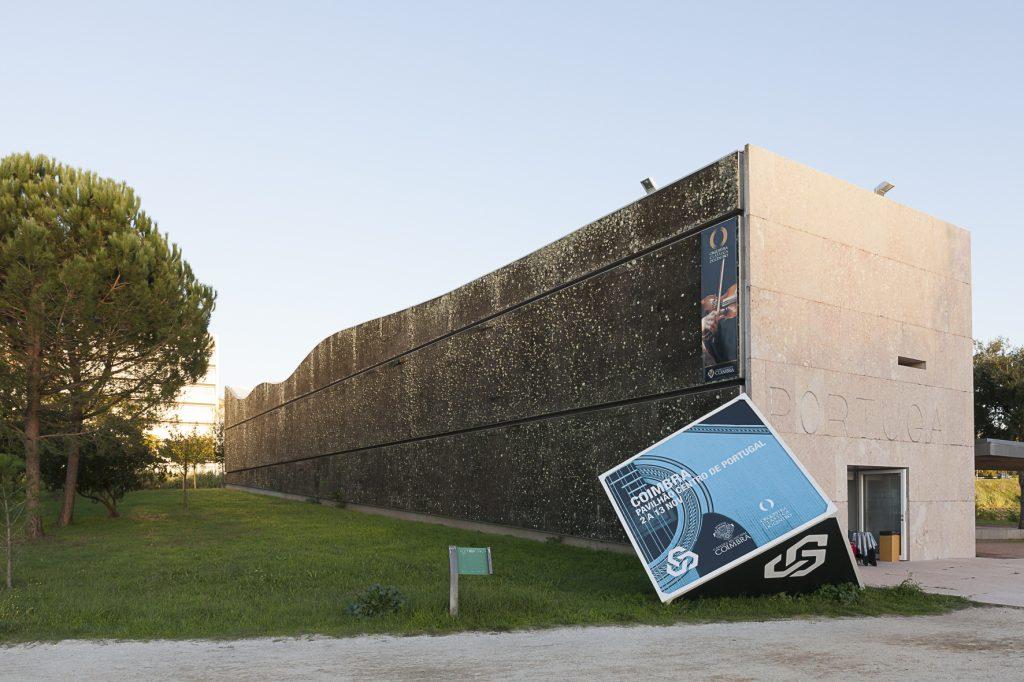 Il padiglione del Porogallo dell'Expo di Hannover 2020 rimontato a Coimbra in sughero faccia a vista
