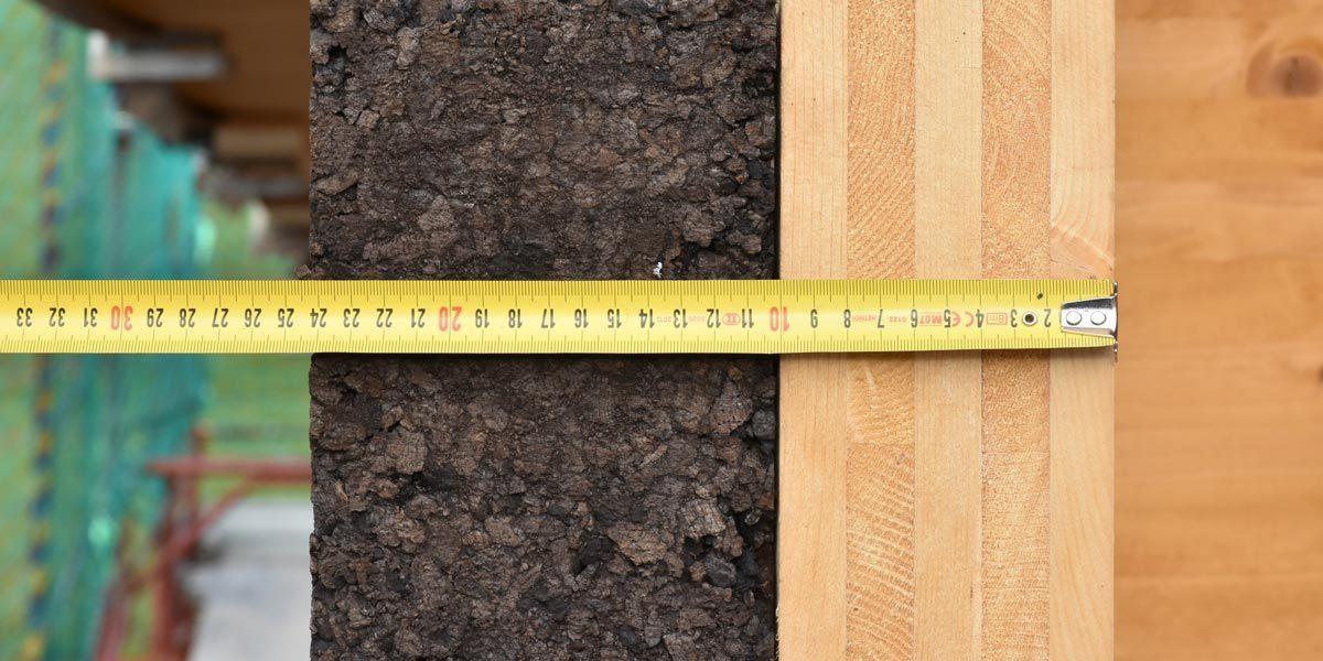 Il sughero CORKPAN è un materiale perfetto per isolare edifici in legno e bioedilizia.